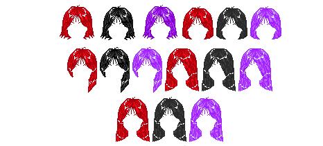 Bianka KiSS Set hair